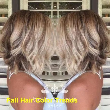 Trending Fall Hair Color Ideas #hairstyle