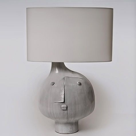 Ceramic modernist table lamp – Dalo Galerie Riviera, France