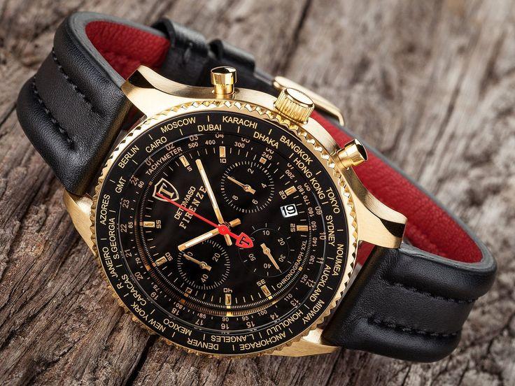 Sportliche Chronographen Detomaso Firenze mit den großen Uhren Firenze XXL und den ausgefallenen Herrenuhren Firenze Style. Top 6 Modelle hier ansehen.