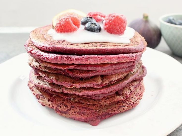 DIY tutorial: Red Beet Pancakes Recipe via en.DaWanda.com