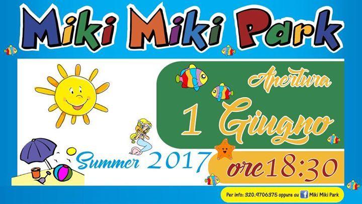 Ci siamo 🤗! Apre il Miki Miki Park , vi aspettiamo tutti i giorni dalle 18:300 alle 24:00 per far divertire i vostri bambini con tante simpatiche novità 😍😍 .  Vi ricordiamo che potete festeggiare all'interno del parco le feste Di compleanno dei vostri bambini 🎂🎂!!  Iniziamo  #summer #estate2017 #selliamarina #unestategonfiadiallegria #divertirsi #selliamarinabeach #bambini #calabria #restart #giochi #sole #mikimikipark #spiaggia #gonfiabili #festedicompleanno #relax