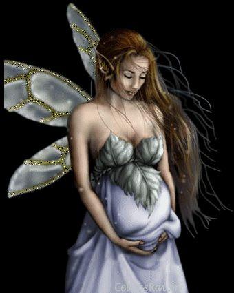 angeles, hadas, sirenas y brujas en punto de cruz