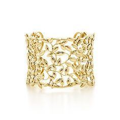 Olive Leaf cuff in 18k gold by Paloma Picasso?  for Tiffany & Co