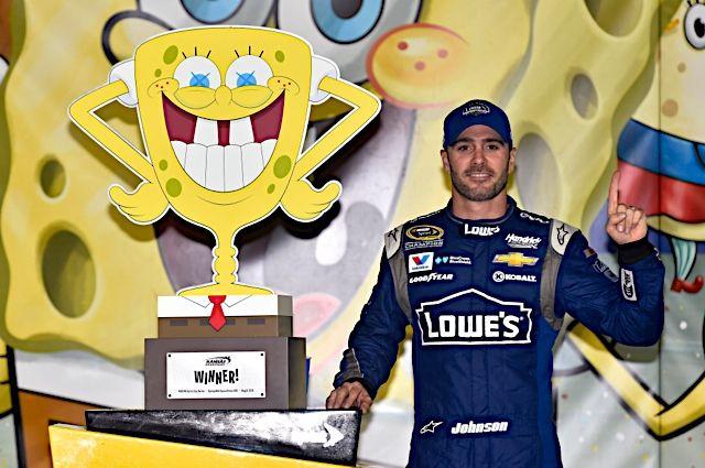 SpongeBob SquarePants 400 | Race Recaps | Jimmie Johnson