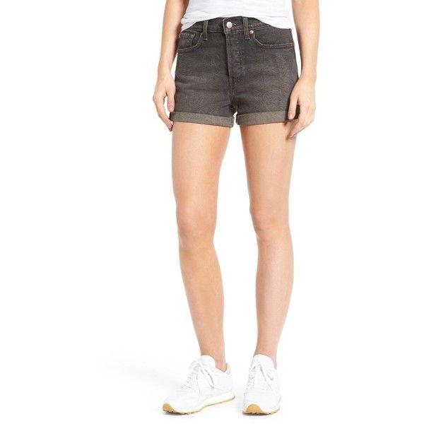 High waist shorts 90er