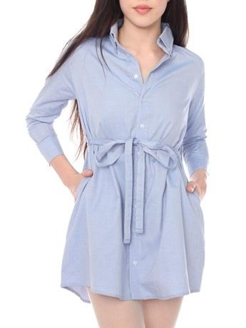 Oxford Shirt Dress | Shop American Apparel - StyleSays