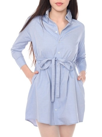 American Apparel Oxford Shirt Dress: Could double as a cute maternity top/dress