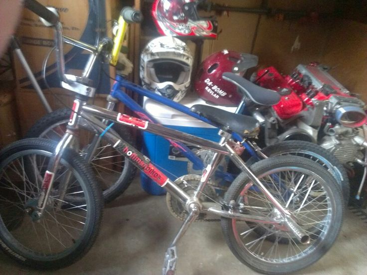Hoffman Taj trick bike. DK BMX bike. Pedal, pedal, pedal!