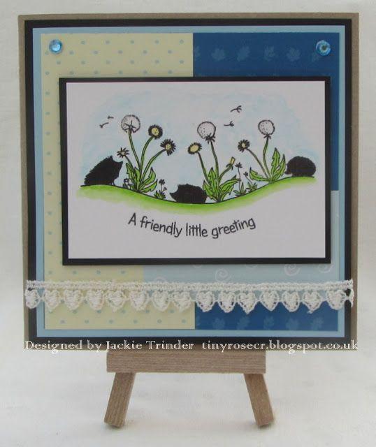 Tinyrose's Craft Room: Cute Hedgehogs - LC Designs