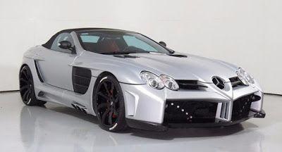 Erleben Sie im vergangenen Jahrzehnt Tuning Stil mit diesem $480k Mercedes-McLaren SLR Ebay FAB Design McLaren Mercedes Mercedes SLR Used Cars