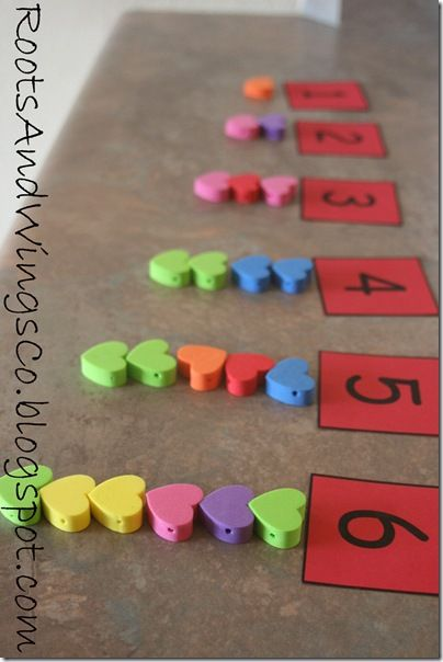 Valentine's Counting/ Number activity