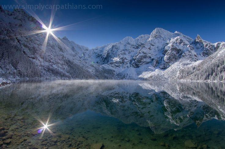 Morskie Oko Lake, The Tatra Mountains, Poland #mountainphotography #amazinglandscape #mountains