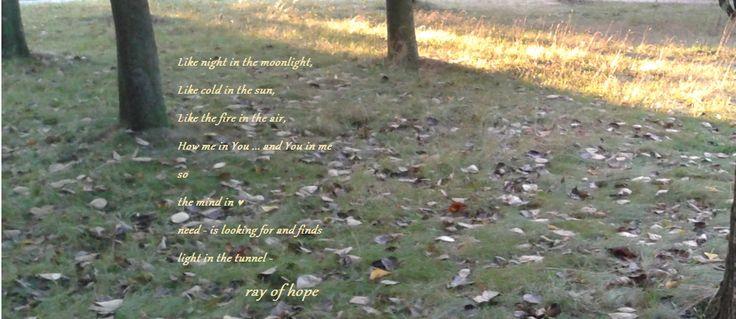 ray of hope  http://garsc-slow.tumblr.com/