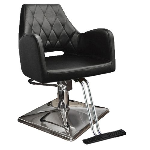 Wholesale Salon Chairs - Hydraulic Styling Chairs with Square Base