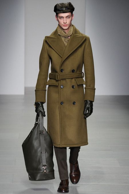 Daks | Fall/Winter 2014 Ready-to-Wear Collection via Designer Filippo Scuffi | Modeled by unnamed male |  February 14 2014; London