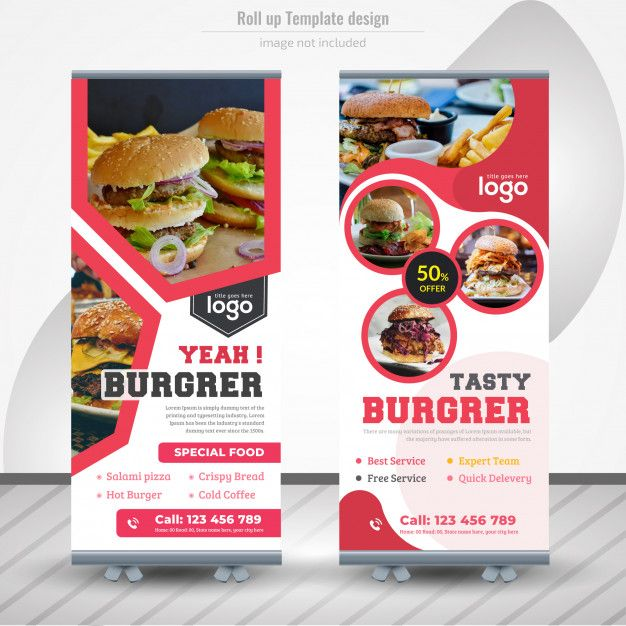 Banner Design Food