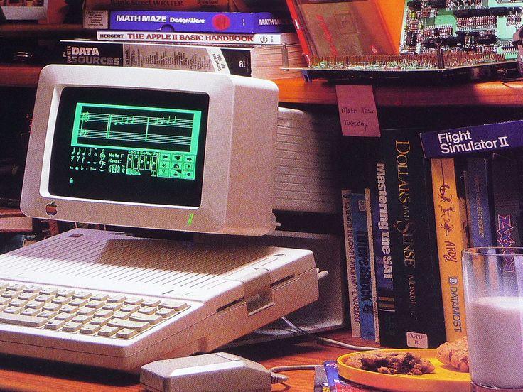 Dinosaur's Pen Apple iic, Apple ii, Computer history