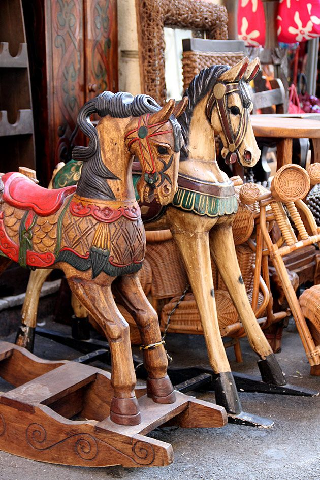 Wooden Horses, Sicily, Italy Even though they are not carousel horses, I couldn't ignore them ..