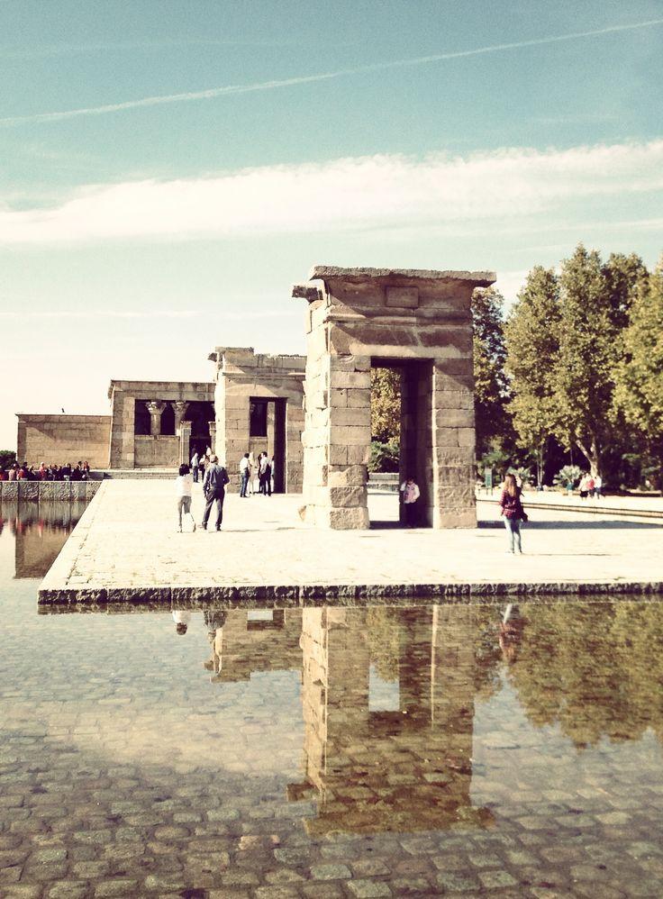 Madrid - Templo de Debod #travel #madrid #spain