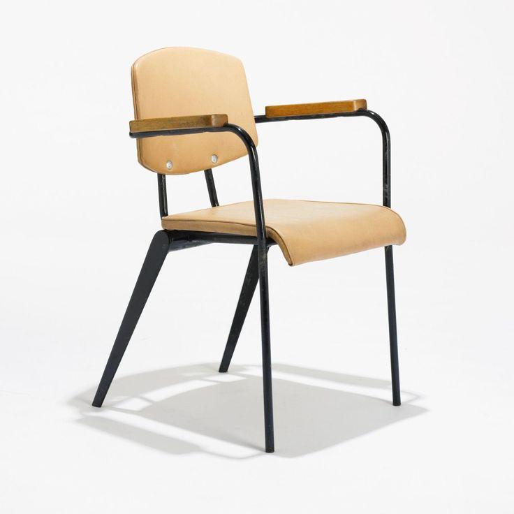 Jean Prouvé / conference armchair, #355, 1953