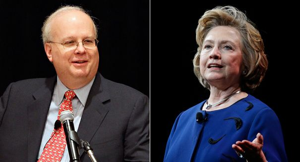 Karl Rove: Bill Clinton revealed Hillary Clinton's health