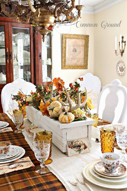 Elegant Thanksgiving Tablescape...Common Ground.