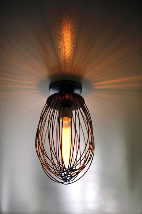 Whisk as a lamp.. love the idea from @Erin Bader Bakery