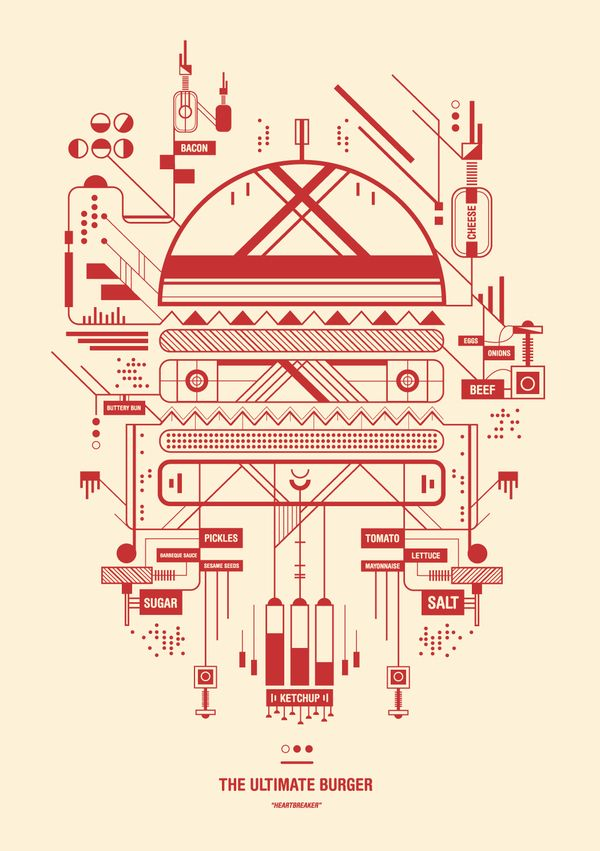 McJunky by Petros Afshar, via Behance