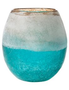 Tilly@home Ombre Round Crackle Vase product photo