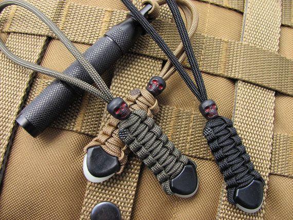 Tactical gear lanyards