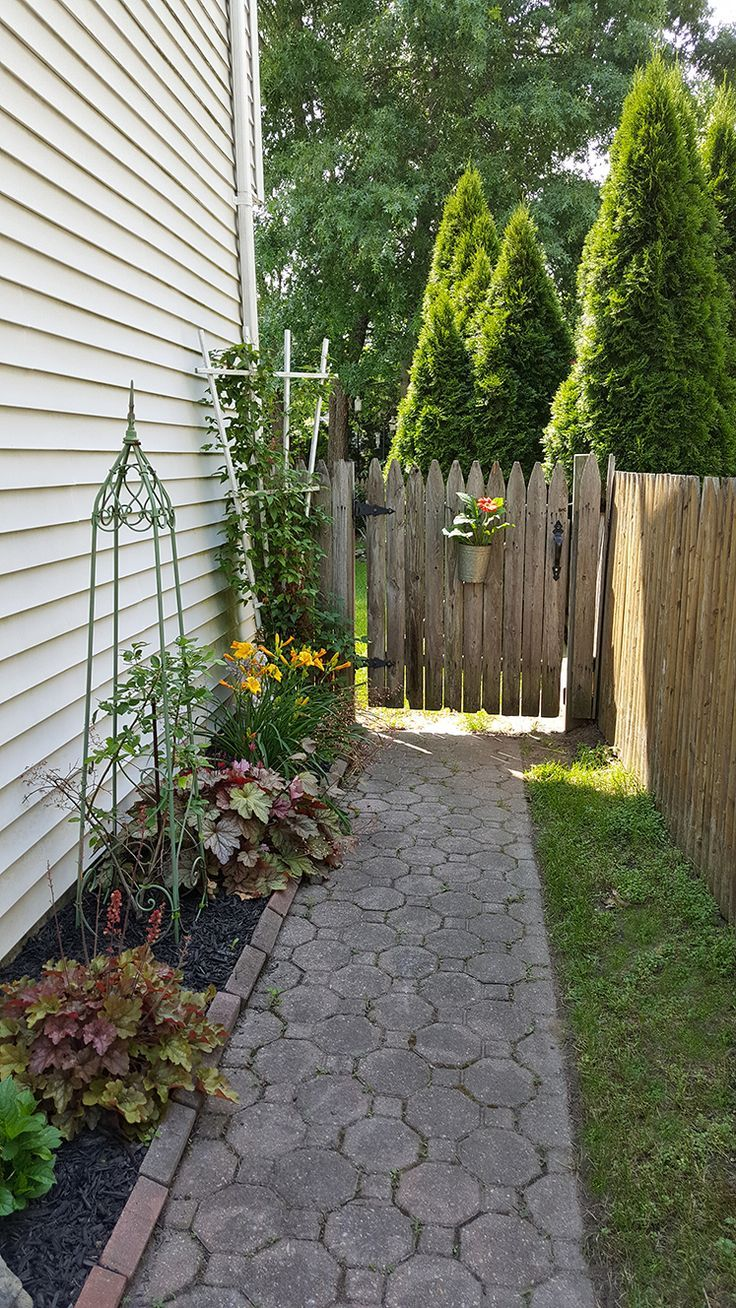 363 best images about Side yard landscaping idea on ... on Side Yard Path Ideas id=86920