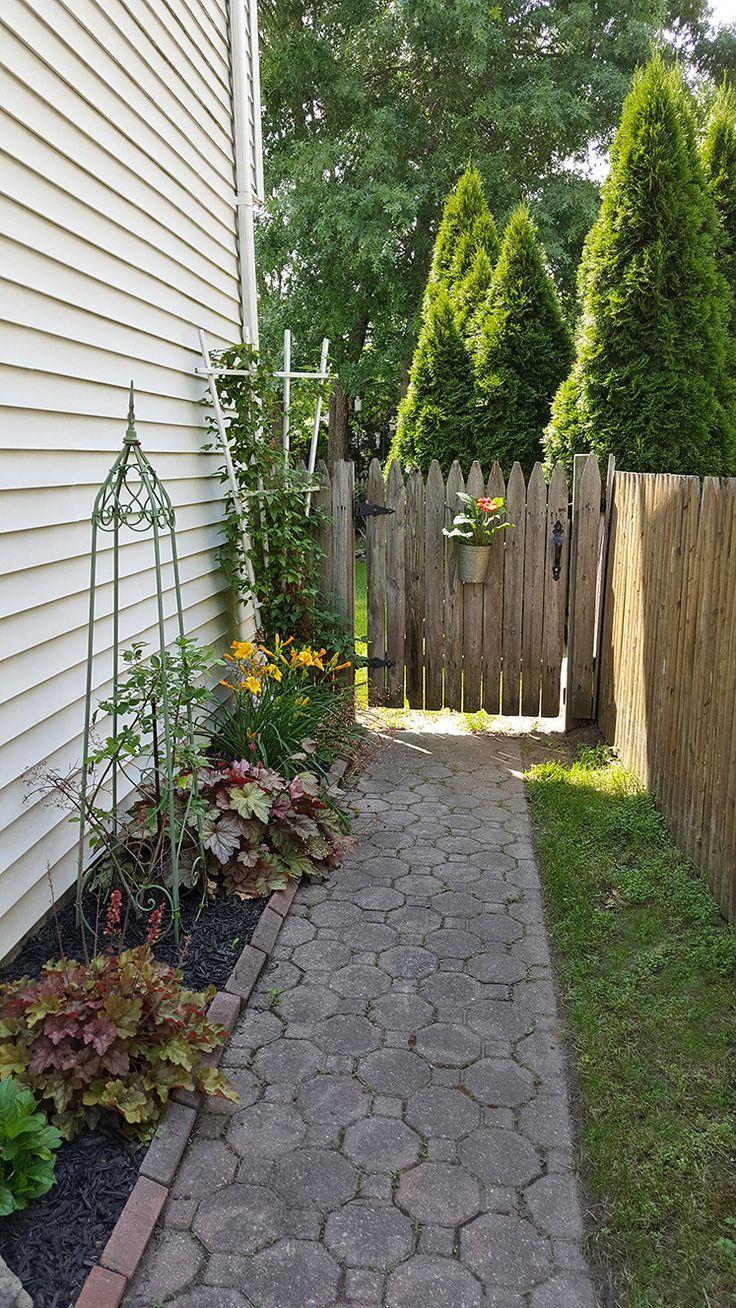 363 best images about Side yard landscaping idea on ... on Backyard Side Yard Ideas id=93399
