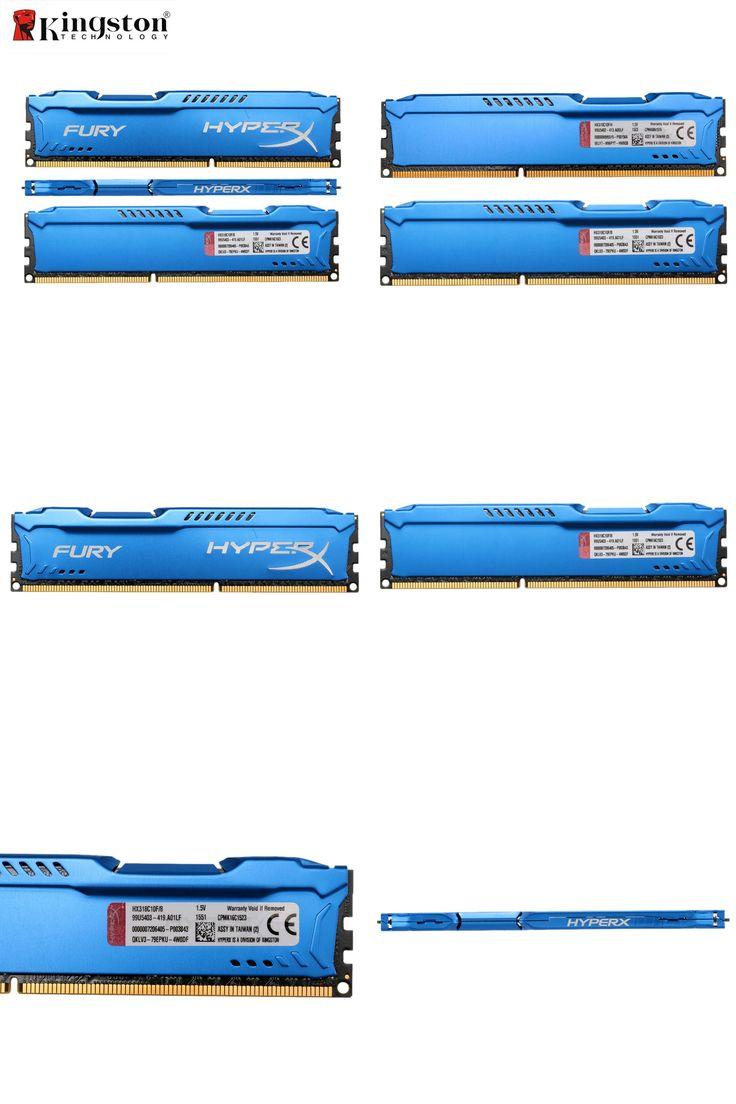 [Visit to Buy] Kingston HyperX FURY Memoria Memory DIMM DDR3 4GB 8GB 1866MHz RAM CL10 1.5V 240-Pin SDRAM Single DDR3 For Desktop PC HX318C10F #Advertisement