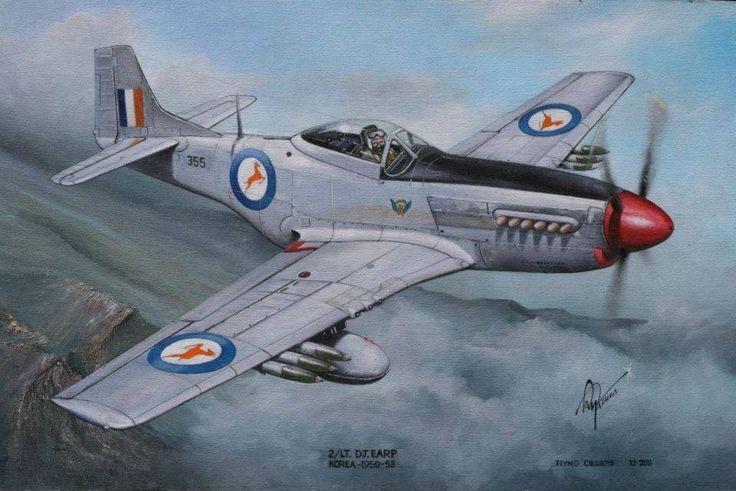 South African Air force - P51D (F51D) Mustang - Korea (1950-1953)