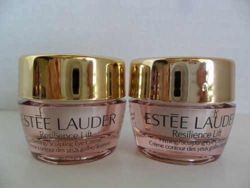 Estee Lauder Resilience Lift Firming/Sculpting Eye Creme .17 oz / 5ml x 2 Jars. Promotional Sample Size No Box. All Skintypes by Estee Lauder. $19.99. Fast Shipping&Email Response.. Qty: 2 Jar. .17 oz / 5ml each jar.. All Skintypes. Estee Lauder Resilience Lift Firming/Sculpting Eye Creme. .17 oz / 5ml. This is Promotional Sample Size No Box. Estee Lauder Resilience Lift Firming/Sculpting Eye Creme .17 oz / 5ml x 2 Jars. Promotional Sample Size No Box. All Skintypes