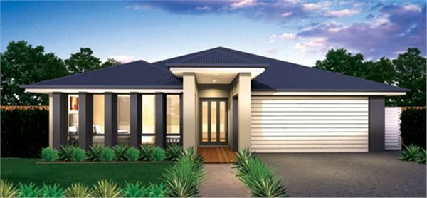 McDonald Jones Home Designs: Entertainer Collection - Entertainer Vogue Executive. Visit www.localbuilders.com.au/builders_nsw.htm to find your ideal home design in New South Wales