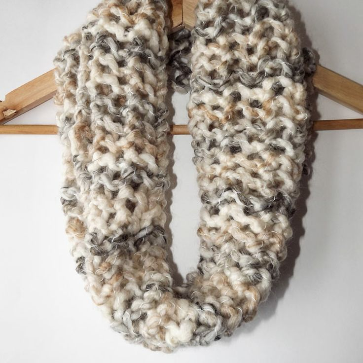 Beautiful hand knitted loop scarf. Made in West Yorkshire, UK.  http://www.madecloser.co.uk/clothes-accessories/bags-accessories/hand-knitted-loop-scarf  #ukmade #britishmade