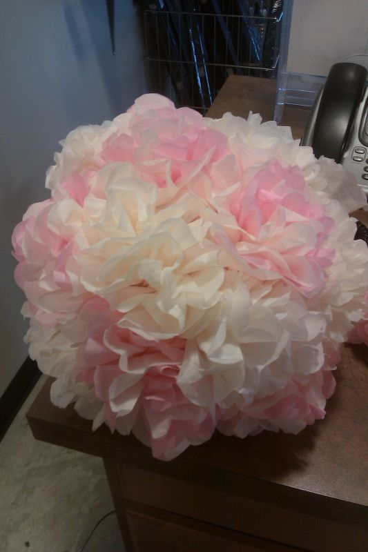 216 best flowers pomander balls images on pinterest flower ball my first attempt at tissue paper kissing ball wedding ceremony decoration flowers ivory kissing ball pink pomander reception mightylinksfo Choice Image