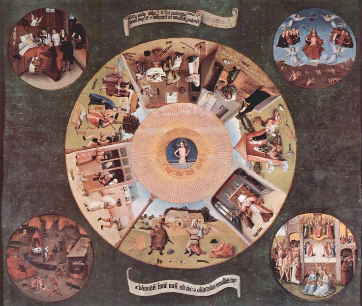 História Contemporânea2007 -  Hieronymus Bosch - Sete Pecados Capitais