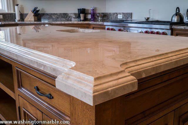 Laminated Double Thickness Washington Marble Granite Co