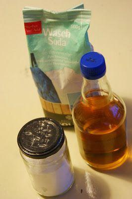 DIY Putzmittel, grün und toxinfrei: Waschsoda und Zitrusessig