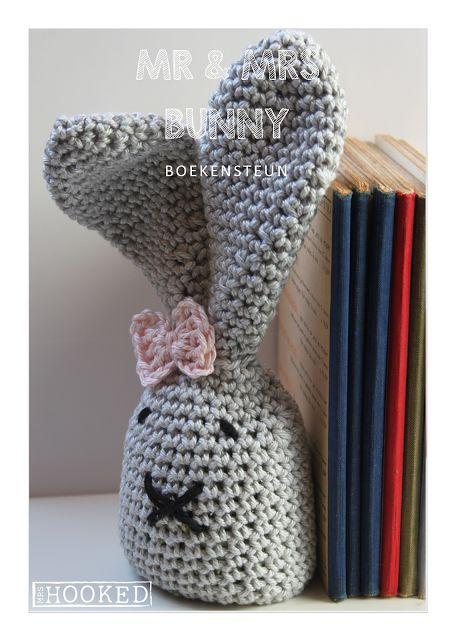 Mr & Mrs Bunny - Gratis haakpatroon