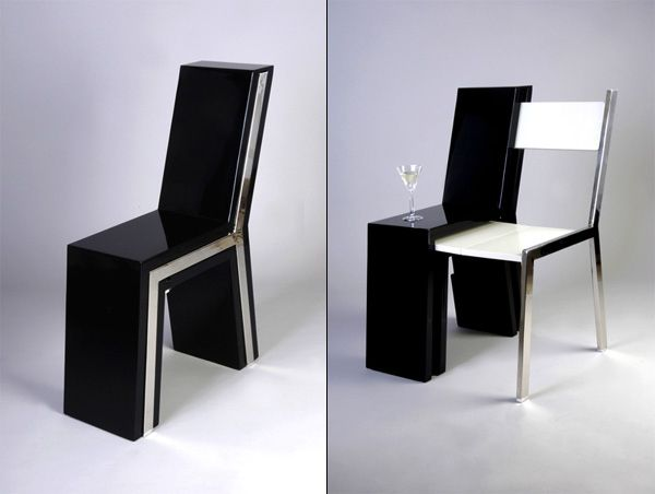 This chair that begat ANOTHER CHAIR.   20 Home Furnishings That Are Borderline Magic - Inspiration