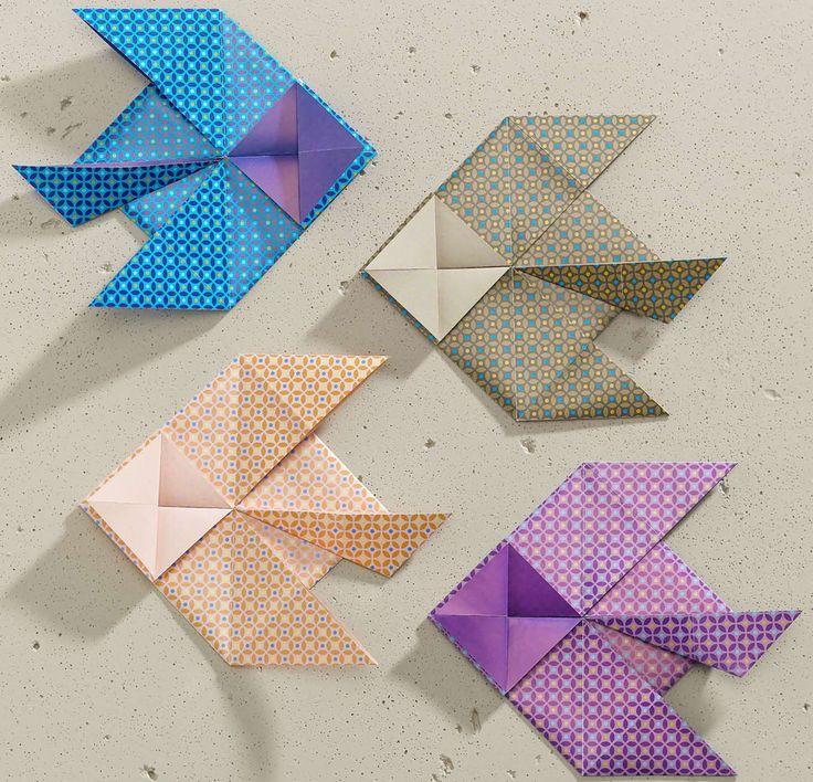 Origami-Fische von Armin Täubner