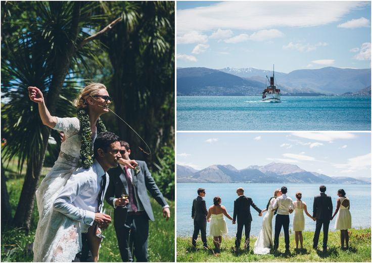 A wedding at Walter Peak High Country Farm  #WalterPeak #NZweddings #Queenstown #RealJourneys #TSSEarnslaw