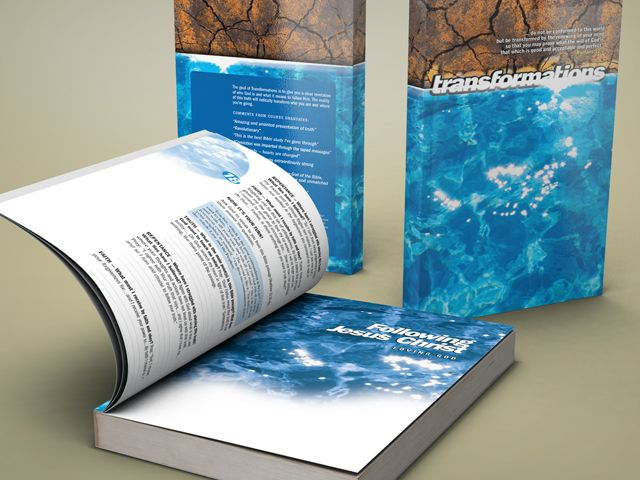 "Book Design:""Transformations"" by Dr. Greg Mitchell - Flink Creative"