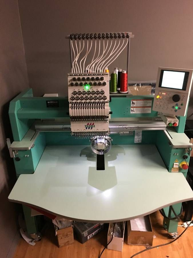 2014 Tajima Embroidery Machine TFMX-C1501 Single-Head 15 needles Commercial #TAJIMA