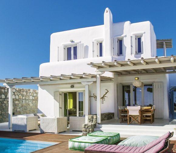 Moradia numa das mais lindas ilhas da Grécia