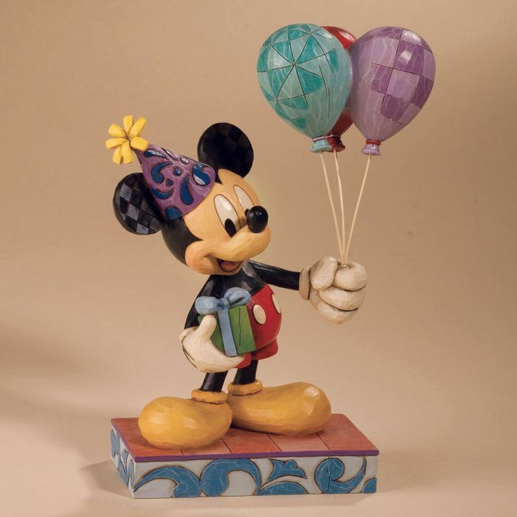 MICKEY & MINNIE MOUSE PARTY FIGURES FIGURINES CAKE TOPPER ...  |Mickey Mouse Birthday Figurines