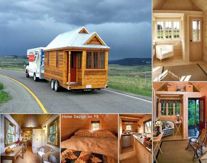 Tiny Houses On Wheels Interior | Cozy Tiny House On Wheels